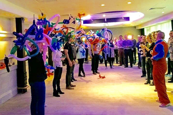circus-themed workshops for businesses or schools